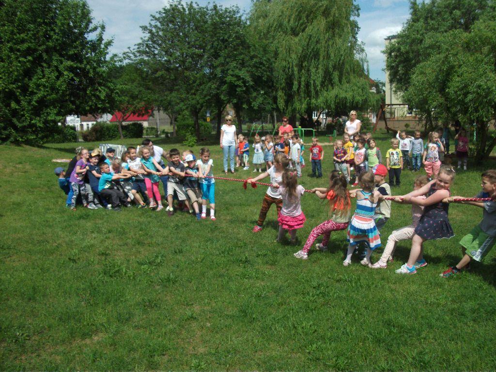 Ilustracja do informacji: Dzień Sportu w Przedszkolu Samorządowym nr 2 w Rzepinie