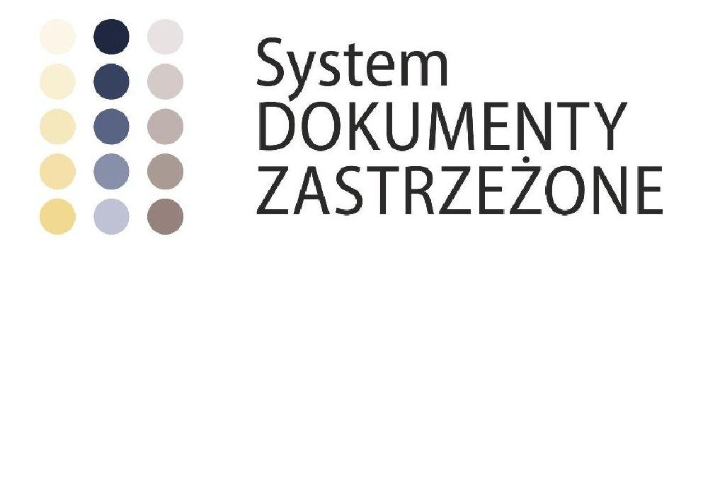 Ilustracja do informacji: Kampania Informacyjna Systemu Dokumenty Zastrzeżone.