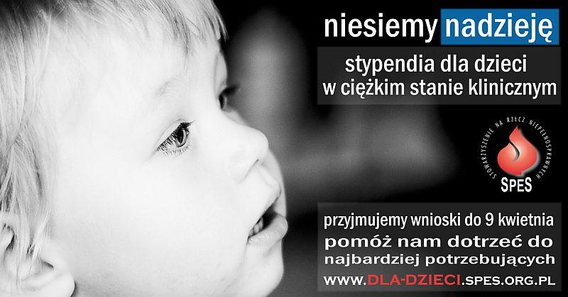 Ilustracja do informacji: Program Pomocy Dzieciom. Stypendia dla dzieci w ciężkim stanie klinicznym.