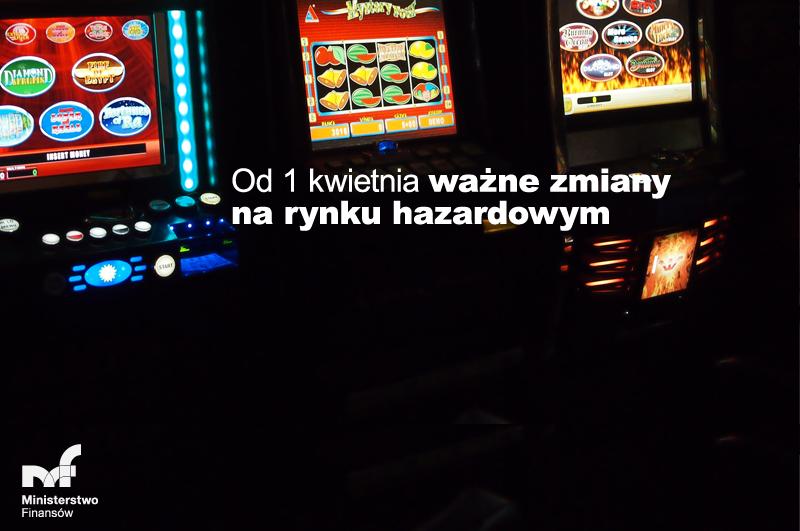 Ilustracja do informacji: Informacja - Ważne zmiany na rynku hazardowym.