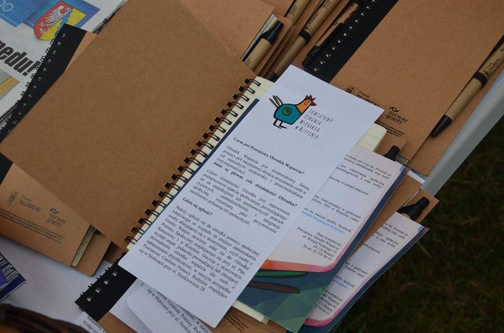 Ilustracja do informacji: Powiatowy Ośrodek Wsparcia w Rzepinie na dożynkach wojewódzkich w Cybince