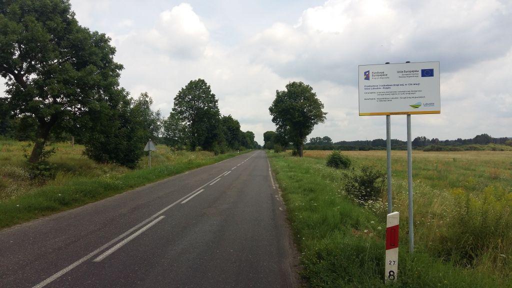 Ilustracja do informacji: Droga z Rzepina do Ośna zostanie przebudowana!