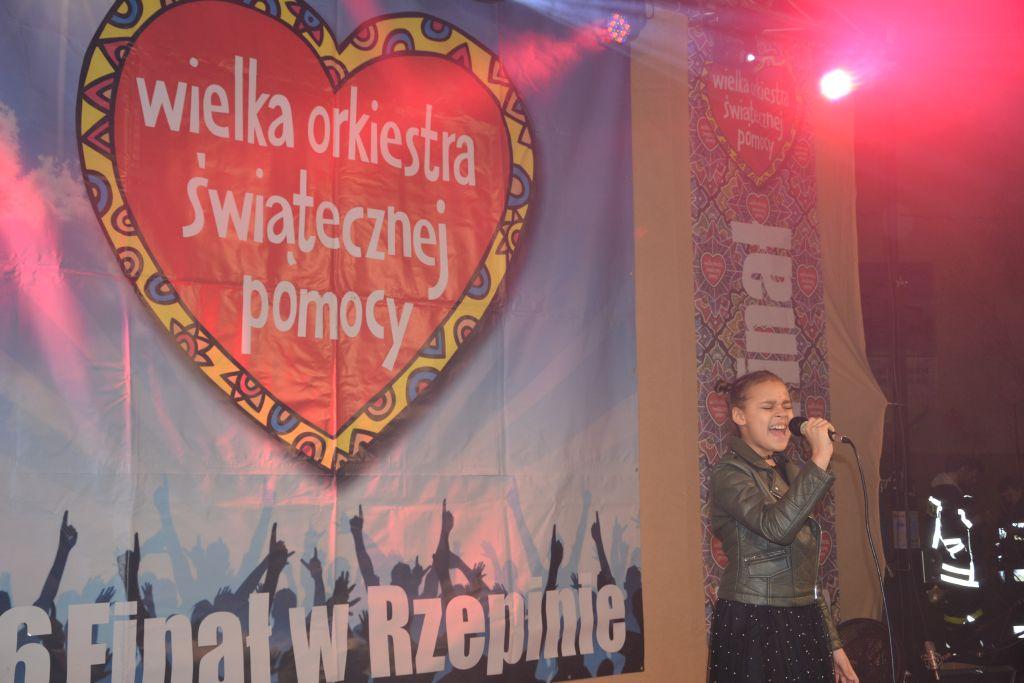 Ilustracja do informacji: Rekordowy wynik 26. Finału WOŚP w Rzepinie!