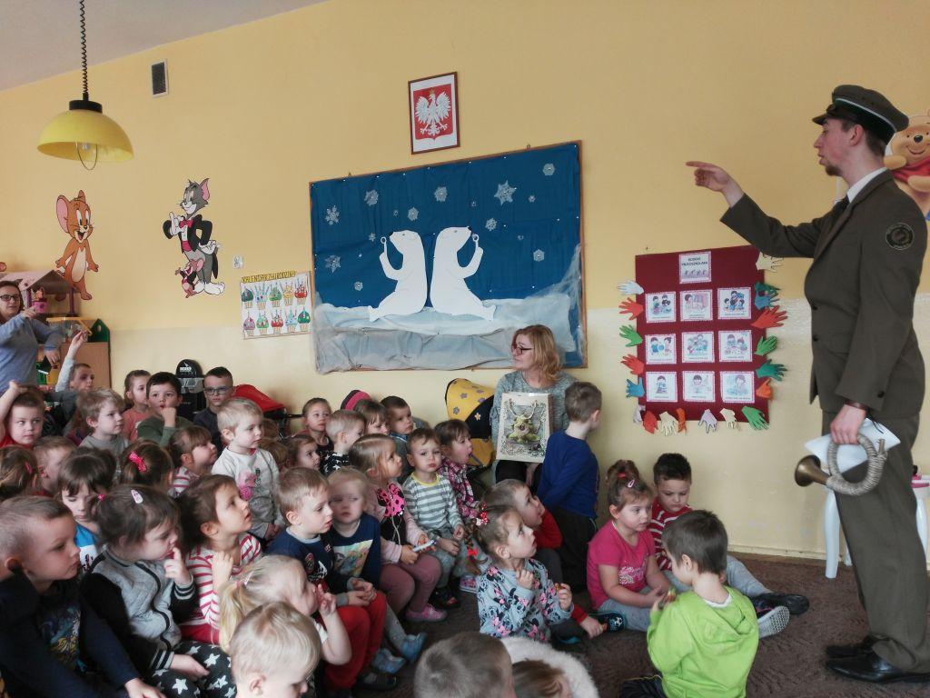 Ilustracja do informacji: Dzień Ligi Ochrony Przyrody w Przedszkolu Samorządowym nr 2 w Rzepinie.