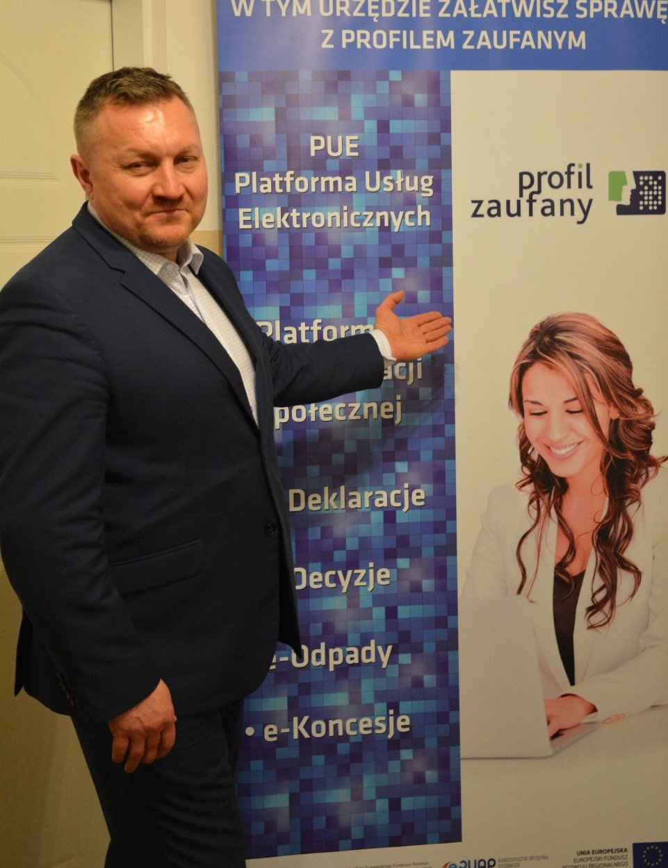 Ilustracja do informacji: Burmistrz Rzepina zaprasza do Urzędu w celu potwierdzenia profilu zaufanego ePUAP!