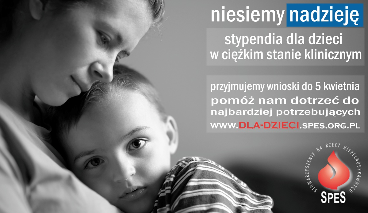 Ilustracja do informacji: Nabór wniosków na stypendia dla dzieci w ciężkim stanie klinicznym