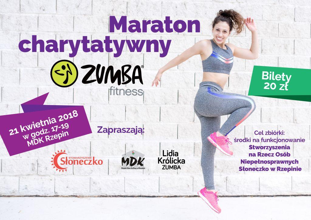 Ilustracja do informacji: Zapraszamy na maraton charytatywny - ZUMBA fitness
