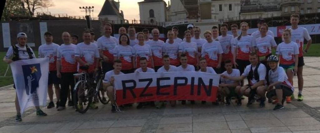 Ilustracja do informacji: Pielgrzymka biegowa z Rzepina dotarła na Jasną Górę!
