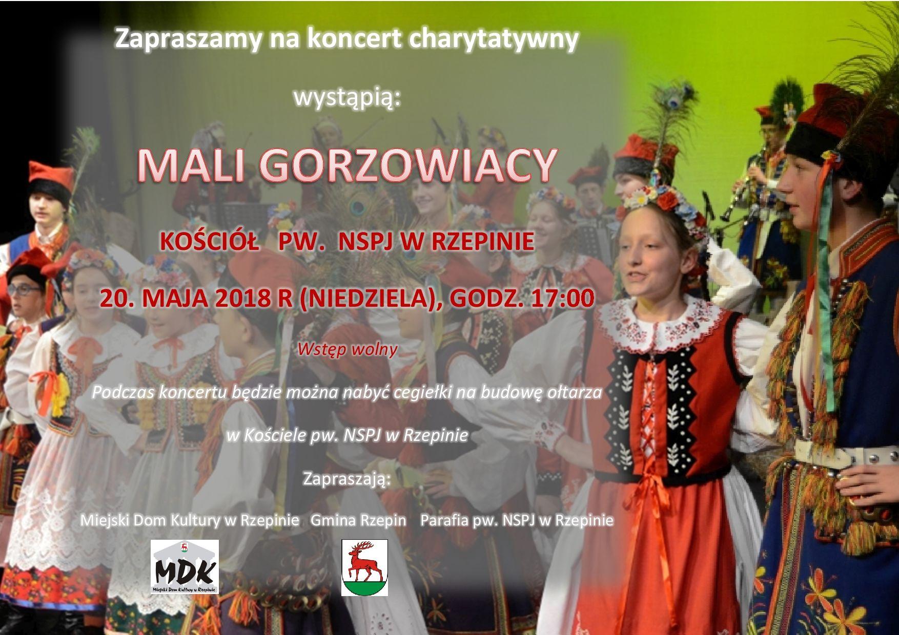 Ilustracja do informacji: Zapraszamy na koncert Małych Gorzowiaków!