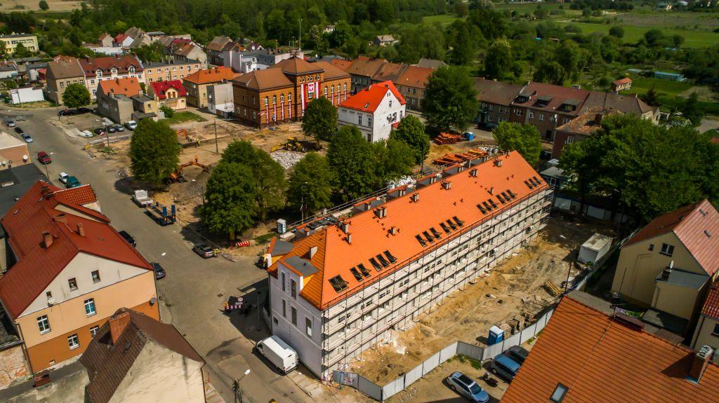 Ilustracja do informacji: Stary Rynek w Rzepinie zmienia swoje oblicze!