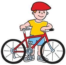 Ilustracja do informacji: Zapraszamy dzieci do udziału w zawodach rowerowych.