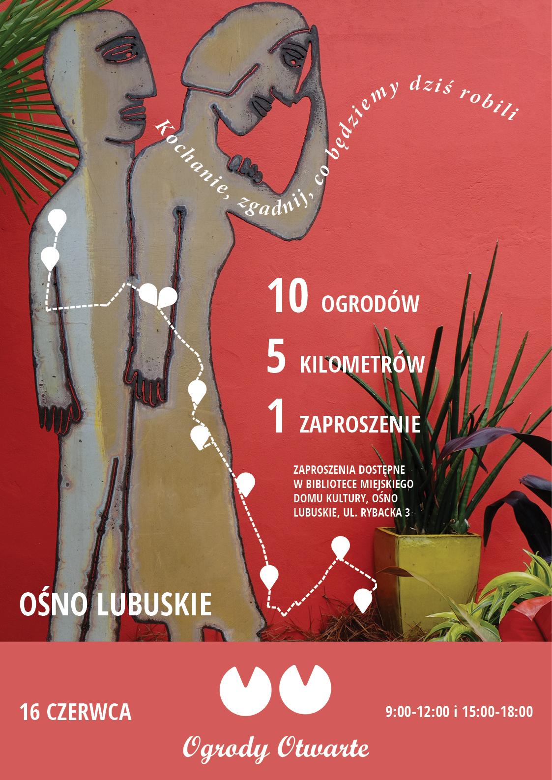 Ilustracja do informacji: Ośno Lubuskie zaprasza na Dzień Ogrodów Otwartych