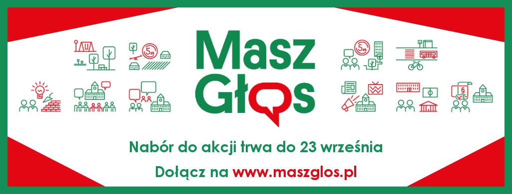 """Ilustracja do informacji: Nabór do akcji """"Masz Głos"""""""