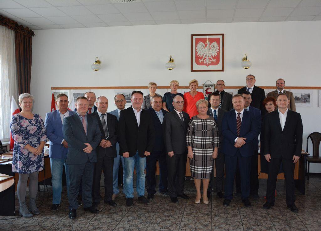 Ilustracja do informacji: Ostania sesja Rady Miejskiej w Rzepinie w kadencji 2014-2018