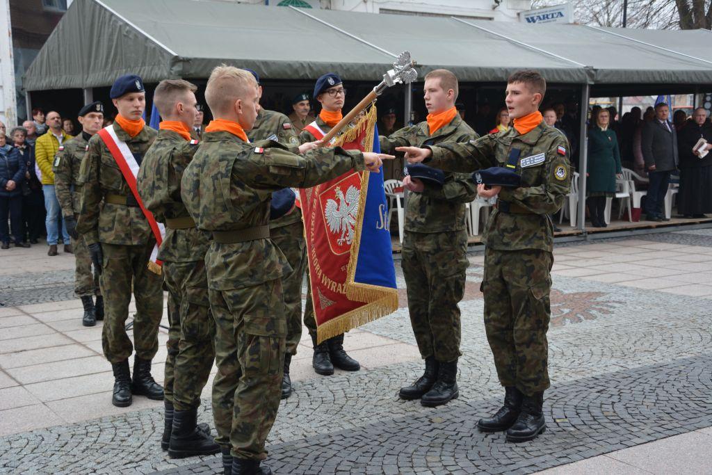 Ilustracja do informacji: Kadeci I klasy wojskowej złożyli ślubowanie!