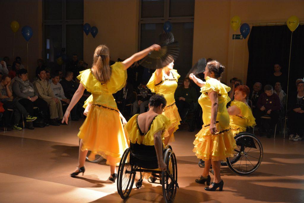 Ilustracja do informacji: Roztańczony Rzepiński Dzień Osoby Niepełnosprawnej