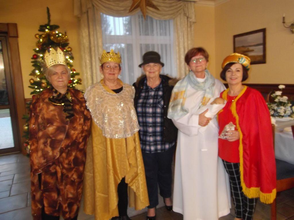 Ilustracja do informacji: Spotkanie wigilijne Seniorów Rzepińskich