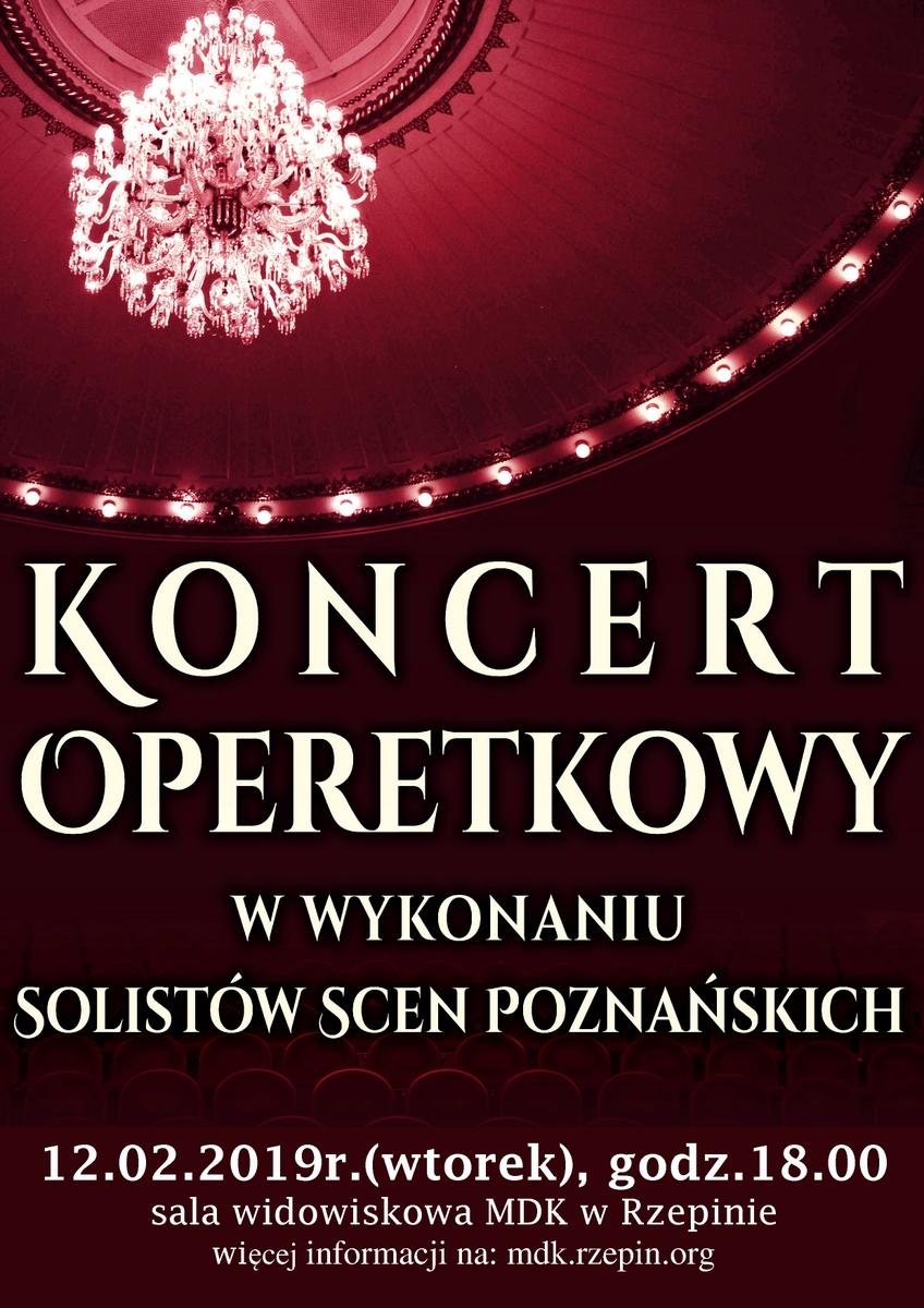 Ilustracja do informacji: Zapraszamy na Karnawałowy Koncert Operetkowy