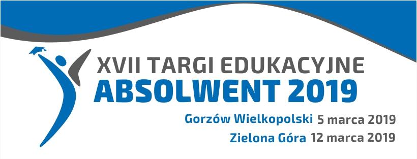 Ilustracja do informacji: XVII edycja Targów Edukacyjnych ABSOLWENT 2019