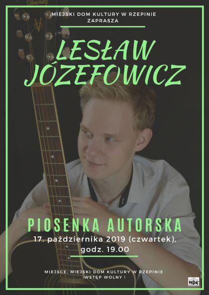 Ilustracja do informacji: Zapraszamy na koncert Lesława Józefowicza