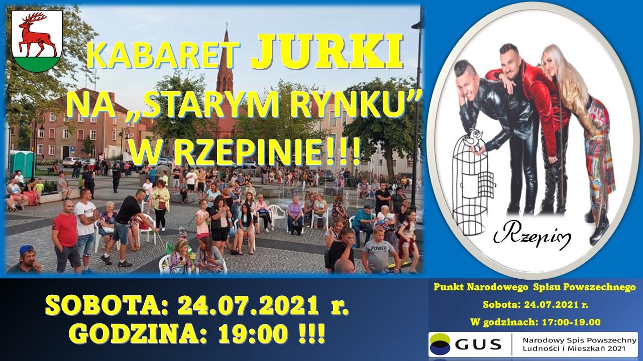 Ilustracja do informacji: Zapraszamy na Kabaret JURKI!!